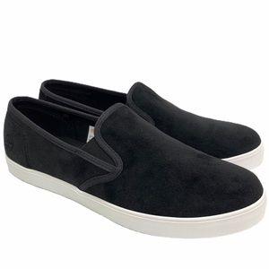Timberland Dausette Slip On Black Velvet Shoes